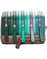Anya Hindmarch - Green Leather The Stack Circus Bag - Lyst