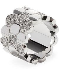 Swarovski - Jewellery Pave Crystal Band Ring - Lyst