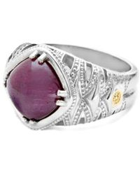 Tacori - Color Medley 18k & Silver 4.71 Ct. Tw. Ruby Ring - Lyst