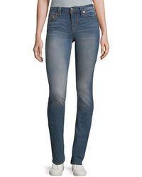 True Religion - Slim Straight Jeans - Lyst