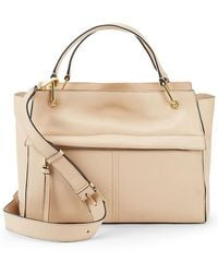 Cole Haan - Kathlyn Leather Satchel - Lyst