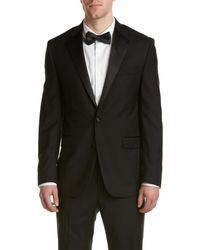 Kenneth Cole - New York Wool Tuxedo With Flat Front Pant - Lyst