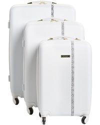 Nine West - Noelle 3pc Hardside Luggage Set - Lyst