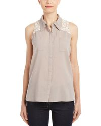 4our Dreamers - Lace Blouse - Lyst