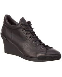 Arche - Titty Leather Wedge Bootie - Lyst