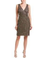 Adrianna Papell - Sheath Dress - Lyst