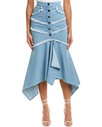 C/meo Collective - Collective Stranded Midi Skirt - Lyst