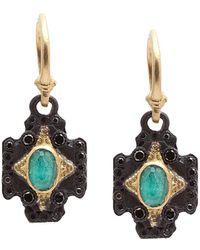 Armenta - Old World 18k & Silver 2.06 Ct. Tw. Diamond & Gemstone Drop Earrings - Lyst