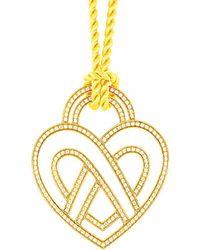 Poiray - 18k 0.68 Ct. Tw. Diamond Toggle Necklace - Lyst