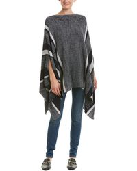 Romeo and Juliet Couture - Striped Jumper Poncho - Lyst
