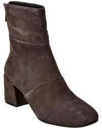 Kenneth Cole New York Eryc Suede Bootie - Brown