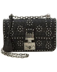 Dior - Addict Leather Flap Bag - Lyst