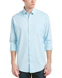 Peter Millar Mcconnell Performance Woven Shirt - Blue