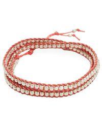 Chan Luu - Nylon Cord & Silver Bracelet - Lyst