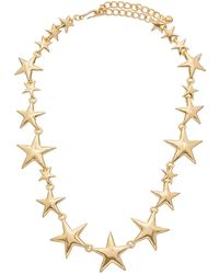 Kenneth Jay Lane - 22k Plated Necklace - Lyst
