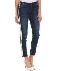 Romeo and Juliet Couture - Medium Denim Straight Leg - Lyst
