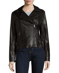 MICHAEL Michael Kors - Zip-it Leather Jacket - Lyst