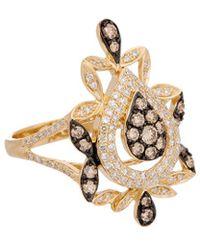 Effy - Fine Jewelry 14k 0.84 Ct. Tw. Diamond Ring - Lyst