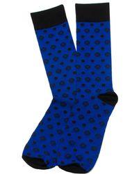 Star Wars - Men's Blue Imperial Dot Socks - Lyst