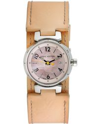 Louis Vuitton - Louis Vuitton 1990 Women's Tambour Watch - Lyst