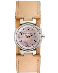 Louis Vuitton - Louis Vuitton 1990 Women's Tambour Watch - Lyst