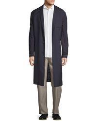 Lanvin - Wool Longline Jacket - Lyst