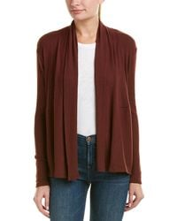 Michael Stars - Open Front Cardigan - Lyst