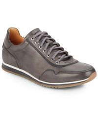 Saks Fifth Avenue - By Magnanni Leather Sneaker - Lyst