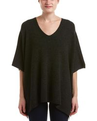 Vince - Ribbed Cashmere Poncho - Lyst
