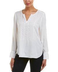 NYDJ - Embroidered Top - Lyst