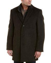 Hart Schaffner Marx Kingman Wool-blend Coat