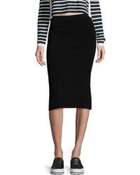 Autumn Cashmere - Split Pencil Skirt - Lyst