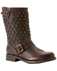 Frye - Jenna Disc Short Boot - Lyst