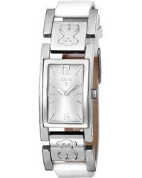 Tous - Women's Plate Watch - Lyst