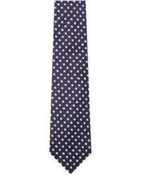 Canali - Silk Textured Tie - Lyst