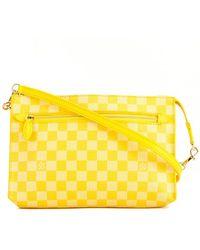 Louis Vuitton - Limited Edition Yellow Damier Couleur Canvas Modul - Lyst