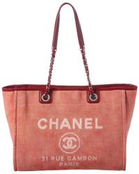 262eaf05d941 Chanel Deauville - Women's Chanel Deauville Totes - Lyst