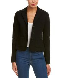James Perse - Cropped Blazer - Lyst