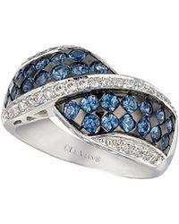 Le Vian - ® 14k 1.57 Ct. Tw. Diamond & Sapphire Ring - Lyst