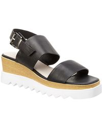 Sol Sana - Traci Leather Wedge - Lyst