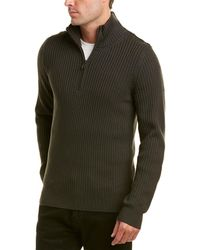 Vince - Mock Neck Wool Pullover - Lyst