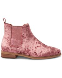 TOMS - Ella Ankle Boot - Lyst