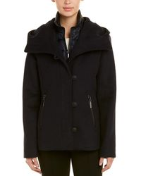 Dawn Levy - Cami Hooded Wool-blend Jacket - Lyst