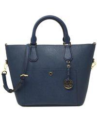 MICHAEL Michael Kors - Greenwich Large Leather Grab Bag - Lyst c949d07f22be2