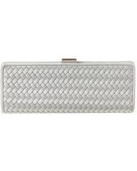 La Regale - Satin Clutch - Lyst