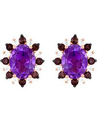 Le Vian - ® 14k Rose Gold 2.57 Ct. Tw. Gemstone Earrings - Lyst