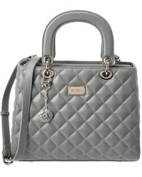 St. John - Quilted Leather Satchel - Lyst