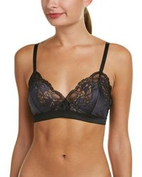 4539b6a1042ad Lyst - Wacoal Supporting Role Underwire Bra in Black