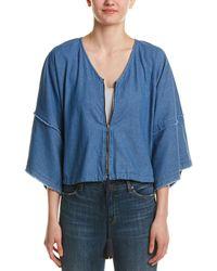 Fate - Denim Kimono Jacket - Lyst