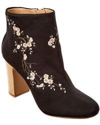 Nanette Nanette Lepore - Belizenl Embroidered Ankle Boots - Lyst